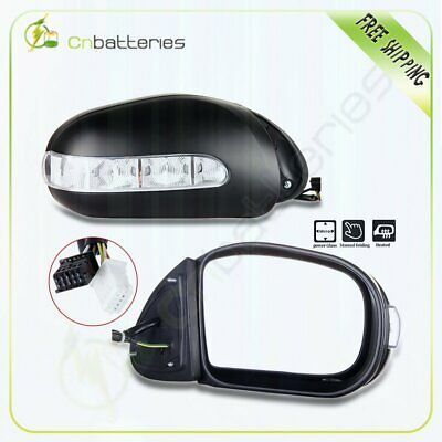 Sponsored Ebay For 2003 2006 Mercedes Benz Power Folding Signal Lights Heated Side Mirrors Pair In 2020 Towing Mirrors Side Mirror Mercedes Benz