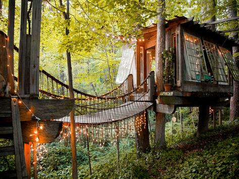 The Most Wished-for Airbnb in Every State | Tree house ...