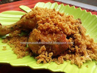 Resep Ayam Kremes Renyah Sensasi Wow Gurih Resep Ayam Resep Masakan Masakan