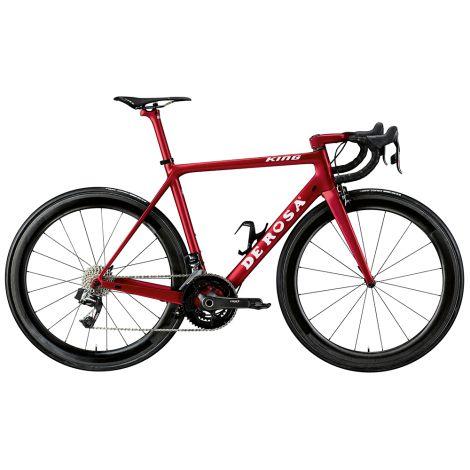 De Rosa King Ultegra Di2 Carbon Road Bike 2019 Rosso Red