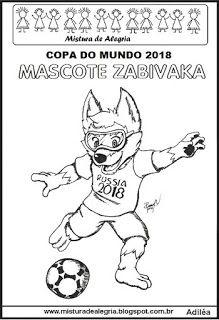 Zabivaka Como Desenhar Mascote Copa Da Russia 2018 Veja Como Desenhar Zabivaka O Mascote Da Copa Do Mundo Da Russia De 2018 Zabivaka Ma Mascote Da Copa 2018 Copa Do Mundo