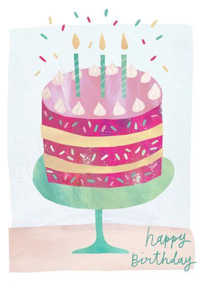 Advocate Art London Marbella New York Happy Birthday Greetings Happy Birthday Cards Birthday Illustration