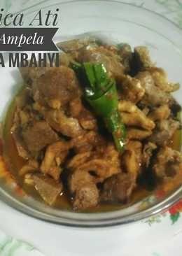 Resep Masak Jeroan Ayam : resep, masak, jeroan, Jeroan, Mbahyi, Resep,, Makanan,