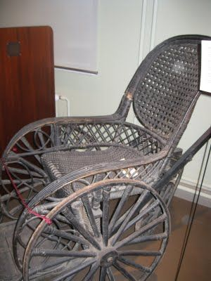 Old Wheelchair in the museum