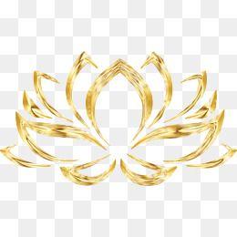 Golden Lotus Free To Pull The Material Lotus Logo Clip Art Lotus