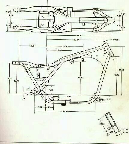 images of chopper bobber blueprints Harley Davidson Panhead - copy blueprint engines heads review