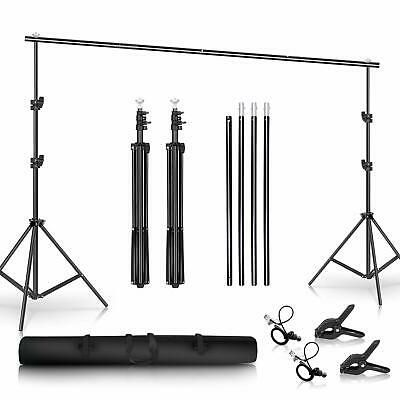 Details About Sh Background Stand 6 5 X 10ft Heavy Duty Background Stand 2x3m Backdrop Su In 2020 Heavy Duty Studio Photography Backdrop Stand