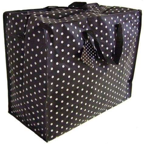Be Stylish At The Launderette With One Of Our Jumbo Sized Black Spotty Laundry Bags Which Is Also Great For Home Storage Made From Recycled Cool Gifts For Women Bag Storage