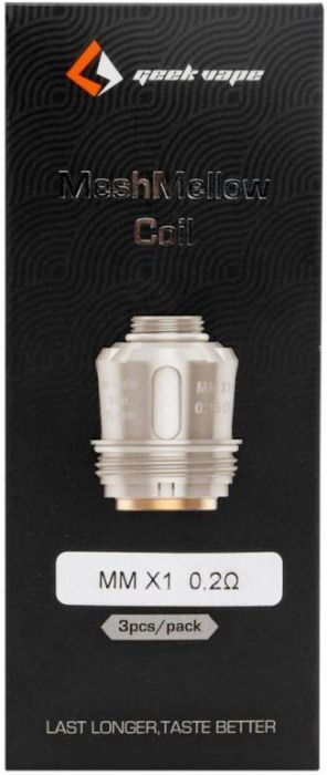 Geek Vape Meshmellow X1 0 2w Coils 60 110w Coils Pure Products Heating Element