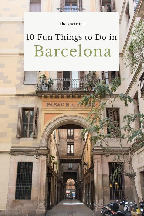 The Perfect Girlfriends Getaway 10 Fun Things To Do In Barcelona