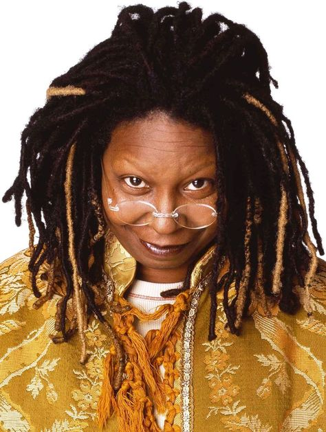 Funny lady Whoopi Goldberg joins today's Katie happy hour!!