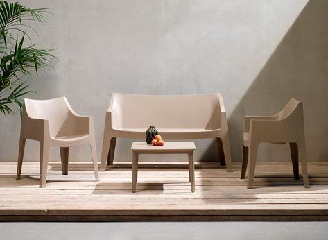 Sedie Per Ristorante Da Esterno.Set Da Due Divanetti Modello Coccolona Scab Design Sped Gratuita