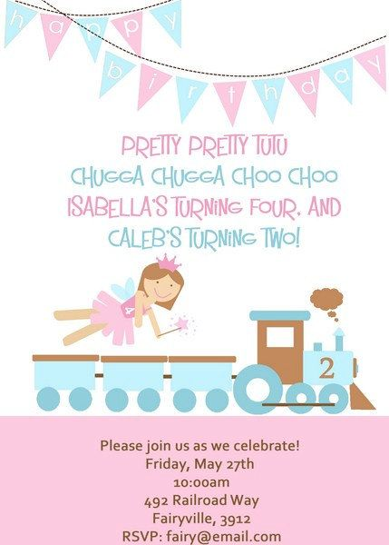 27 best Joint birthday party ideas images – What to Put on a Birthday Invitation