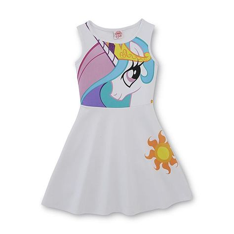 My Little Pony Fit & Flare Dress - Princess Celestia