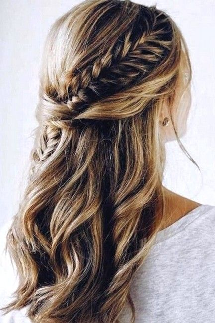 39 Gorgeous Wedding Hairstyle Half Up Half Down Make You Perfect Wedding Hairstyles Half Up Half Down Down Hairstyles Wedding Hair Down