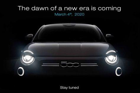 Nouvelle Fiat 500 2020 La Citadine Electrique Devoilee En