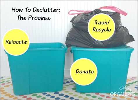 How To Declutter: The Process
