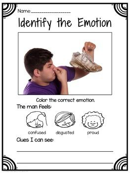 Emotions Worksheets and Activities (Special Education) | My