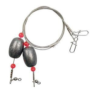 Fishing Egg Sinker Weight Ready Rigs include Lead Sinker