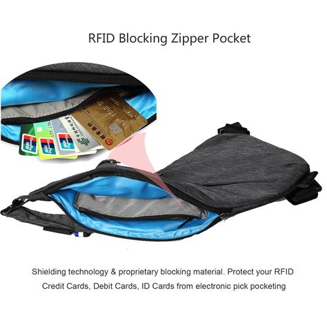 327d9168c2 TOPNICE Sling Back Pack Shoulder Chest Crossbody Bags Lightweight Casual  Outdoor Sport Travel Hiking Multipurpose Anti Theft Sling Purse Bags for  Men Women ...