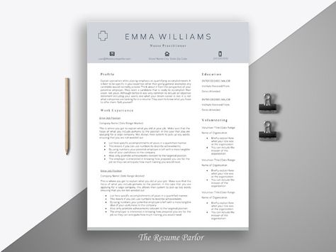 250 best Resume Templates images on Pinterest Resume templates - guide to create resume