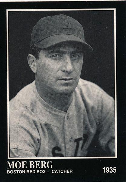 Moe Berg Jewish Baseball Museum Proud And Jewish Jewish