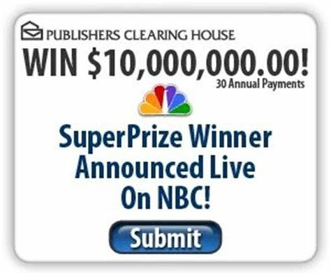 PCH I RROJAS CLAIM MY TO MY SUPERPRIZE WINNER Announced Live