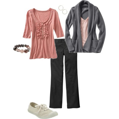 love grey and pink for hanging out