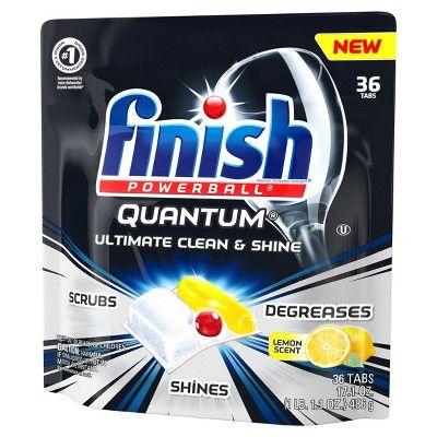 Finish Quantum Ultra Degreaser With Lemon Dishwasher Detergent Tablets 36ct Pest Control Dishwasher Detergent Tablets Best Pest Control