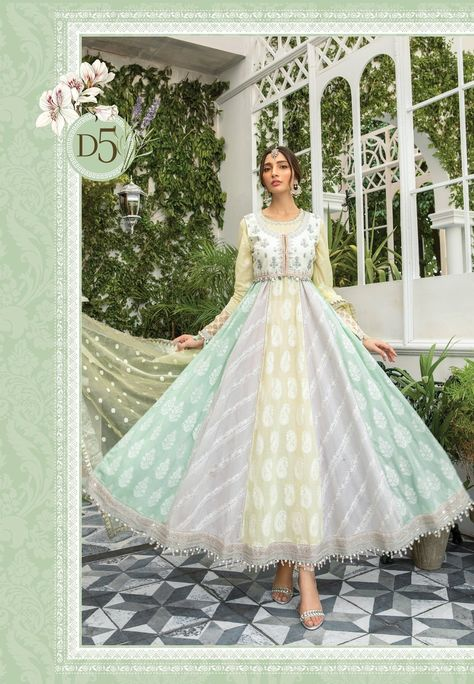 Maria.B brings our highly anticipated signature Eid Lawn 2021 : traditional & elegant in a variety of fabrics from soft printed organza with mirror work to chikankari embroidered tulle, ombre Swiss voile and jacquard cotton net. Maria B Eid Lawn Collection 2021 Dispatch Week Commencing 25 th May 2021 Product pre-o