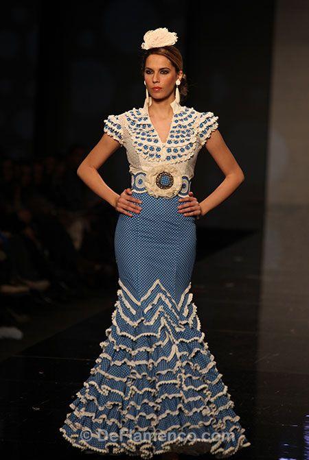 Fotografías Moda Flamenca - Simof 2013 - FALY DE LA FERIA AL ROCIO Con solera