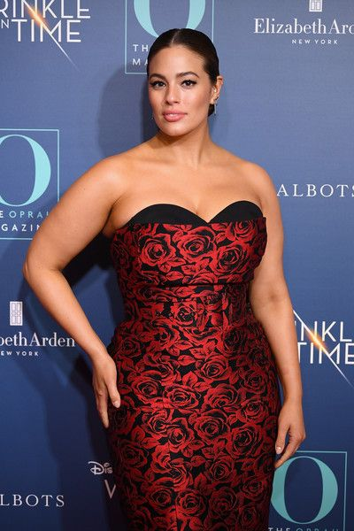 Ashley Graham attends as O, The Oprah Magazine hosts a special NYC screening of 'A Wrinkle In Time' at Walter Reade Theater.