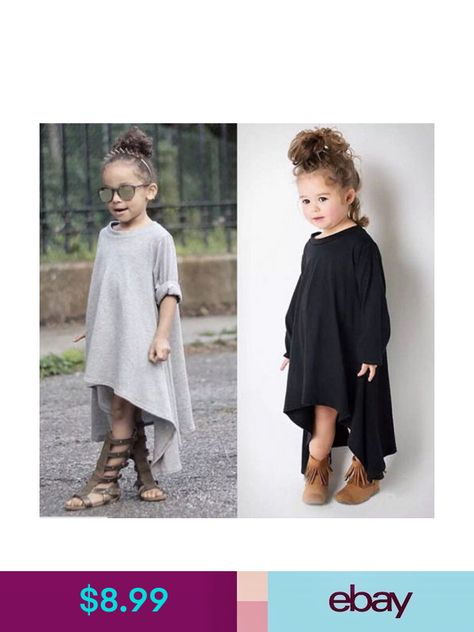 Baby Girls Kid Toddler Afghan Maxi Loose Batwing Dress Clothes Sundress Outfit Z