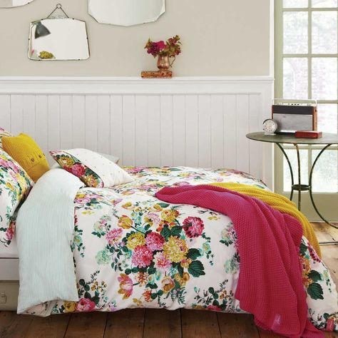 Joules Ruby Quilt Cover Home Decor Bedroom Floral Duvet Cover