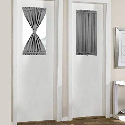 Door Window Curtains Add Breezy Ambiance To Your Home Sidelight