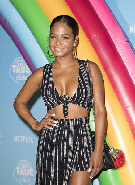 Actress Christina Milian attends the Netflix Original Series 'True and the Rainbow Kingdom.'