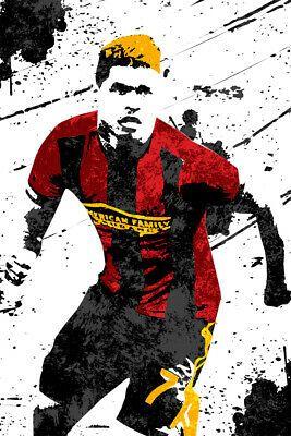 Josef Martinez Atlanta United Soccer Art Wall Indoor Room Poster Poster 24x36 Ebay In 2020 Soccer Art Room Posters Art