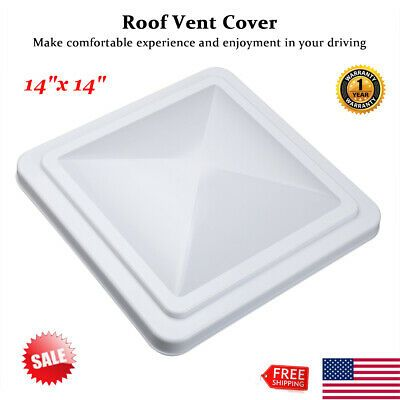 Sponsored Ebay Rv Roof Vent Cover Vent Lid Cover For Camper Trailer Motorhome White 14 X 14 Roof Vent Covers Vent Covers Roof Vents