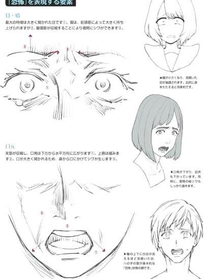 Manga Drawing Manga Drawing In 2020 Happy Face Drawing Anime Face Drawing Facial Expressions Drawing