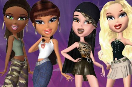 Sasha,Yasmin,Jade and cloe . of BRATZ magazine