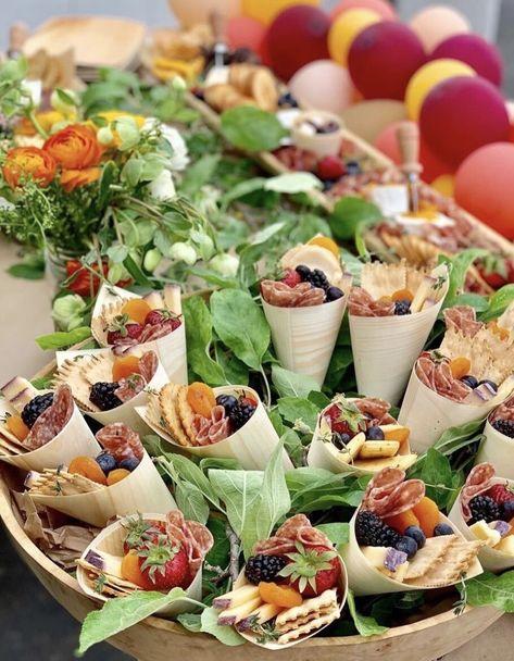 Charcuterie Cones - 10 minimum order qty — Savory n Sweet, Inc.