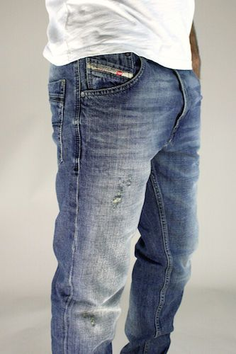 Petrol Industries Mens Designer Branded Tapered Vintage Wash Denim Jeans BNWT