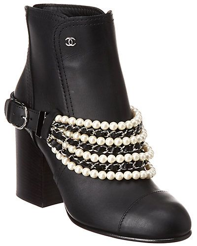 Never Worn / Gilt   Chanel ankle boots