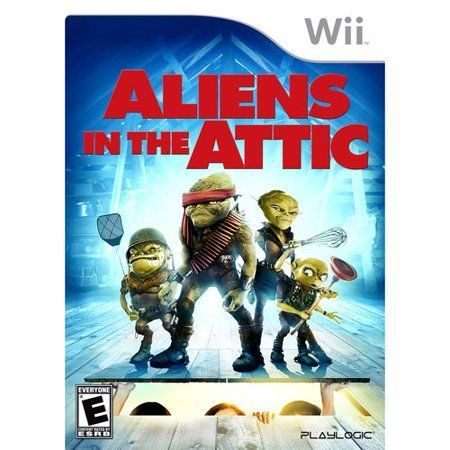Aliens In The Attic Wii Walmart Com Wii Games Wii Alien