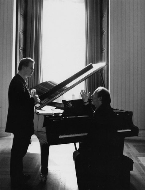 Christopher Nolan and Hans Zimmer at work