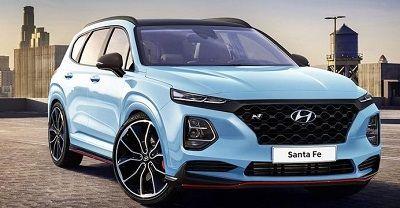 2020 Hyundai Santa Fe Release Date Changes Carros De Luxo Carros I30