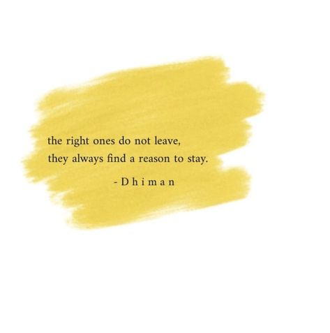 the right ones do not leave