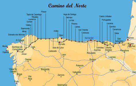 Camino Del Norte The Coastal Route To Santiago De Compostela Spain Places To Visit Hiking Trip Del Norte