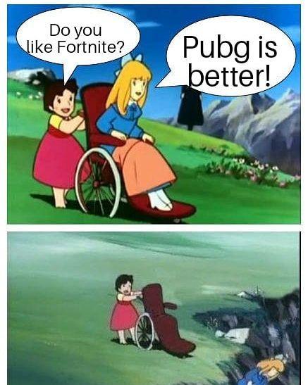 Fortnite Or Pubg Meme Memes Fortnite Fortnut Fortnitememes