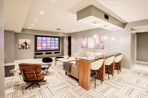 Funky Fresh Basement Contemporary Basement Toronto By